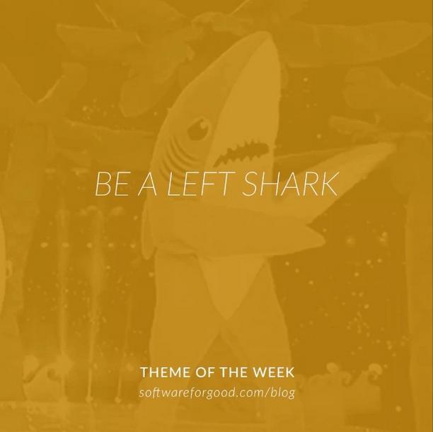 Be a Left Shark