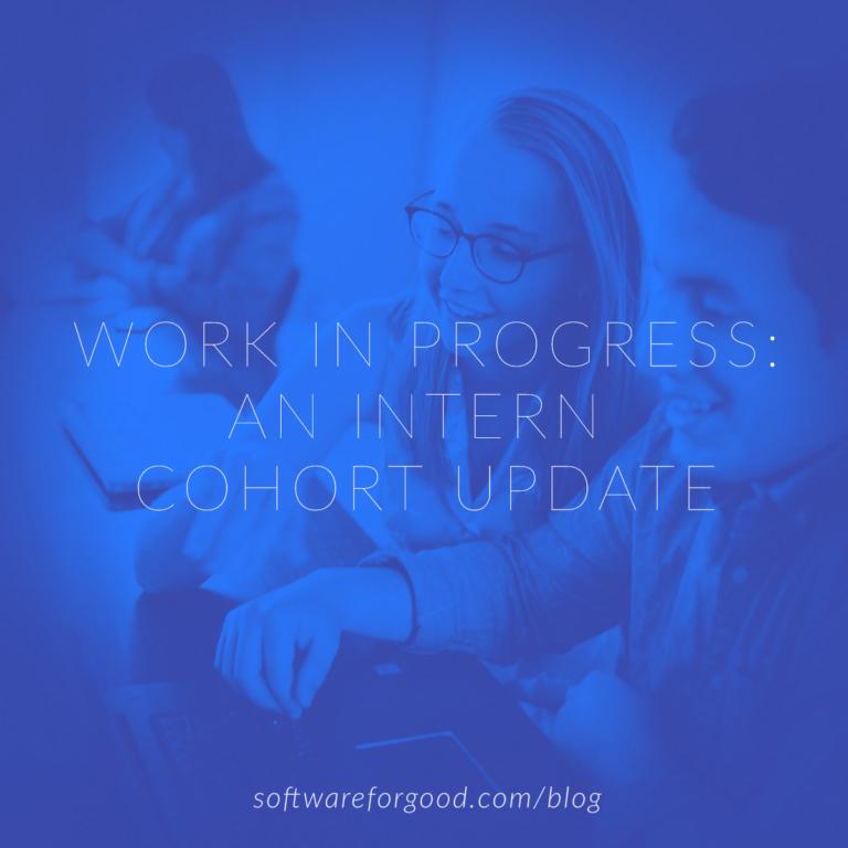 Work In Progress: An Intern Cohort Update