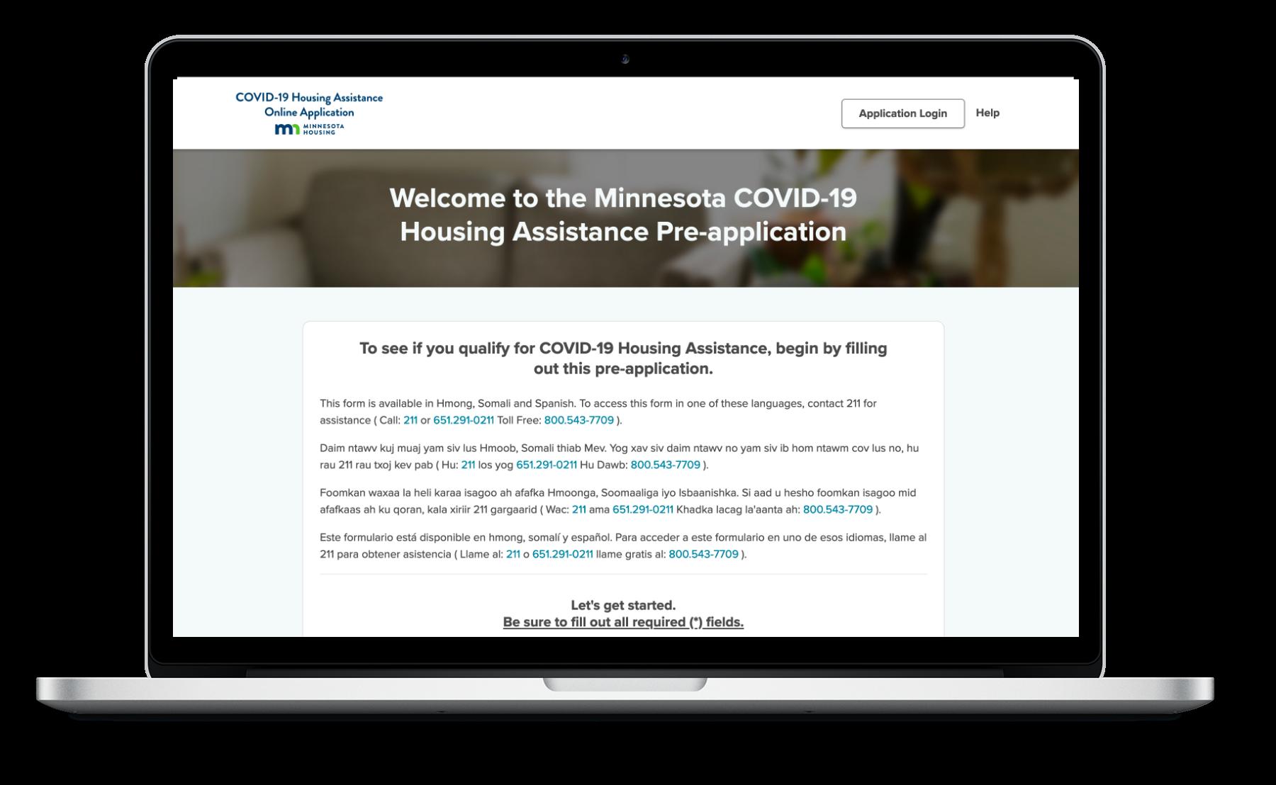 Minnesota COVID-19 Assistance Program